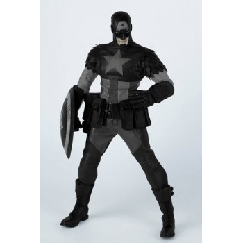 Marvel x ThreeA Action Figure 1/6 Night Mission Captain America by Ashley Wood 32 cm