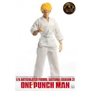 One Punch Man Action Figure 1/6 Saitama (Season 2) Deluxe Version 30 cm