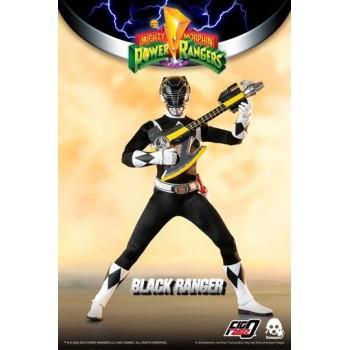 Mighty Morphin Power Rangers FigZero Action Figure 1/6 Black Ranger 30 cm
