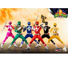 Mighty Morphin Power Rangers FigZero Action Figure 1/6 6-Pack 30 cm