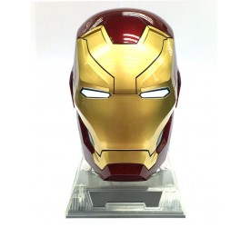 Captain America Civil War Bluetooth Speaker 1/1 Iron Man Mark XLVI Helmet 26 cm