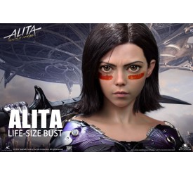 Alita Battle Angel 1:1 Bust by Queen Studios 70 CM