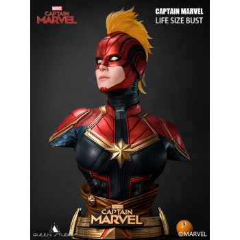 Captain Marvel 1:1 Scale Lifesize Bust 90 CM