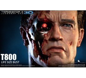 Terminator 2: Judgement Day T-800 Life Size Bust 65 CM