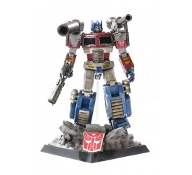 HotToys Asia Exclusive Optimus Prime Megatron Version
