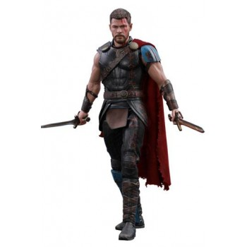 Thor Ragnarok Movie Masterpiece Action Figure 1/6 Gladiator Thor Deluxe Version 32 cm