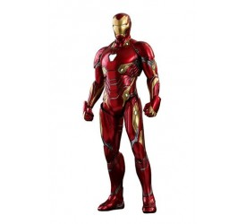 Avengers Infinity War Diecast Movie Masterpiece Action Figure 1/6 Iron Man Mark 50 32 cm