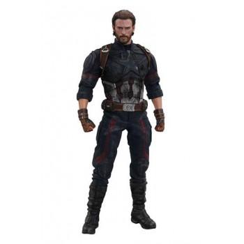 Avengers Infinity War Movie Masterpiece Action Figure 1/6 Captain America 31 cm