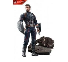 Avengers Infinity War Movie Masterpiece Action Figure 1/6 Captain America Movie Promo Edition 31 cm