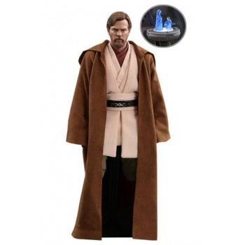 Star Wars Episode III Movie Masterpiece Action Figure 1/6 Obi-Wan Kenobi Deluxe Version 30 cm