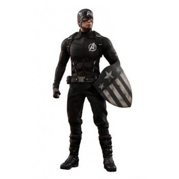 Marvel MMS Action Figure 1/6 Captain America Concept Art 2018 Toy Fair Exclusive 31 cm