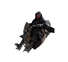 Star Wars Episode I DX Series Action Figure 1/6 Darth Maul and Sith Speeder 29 cm