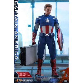 Avengers Endgame Movie Masterpiece Action Figure 1/6 Captain America (2012 Version) 30 cm