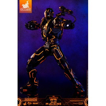 Marvel Neon Tech War Machine 1/6 Scale Figure