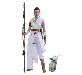 Star Wars Episode IX Movie Masterpiece Action Figure 2-Pack 1/6 Rey and D-O 28 cm
