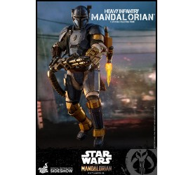Star Wars The Mandalorian Heavy Infantry Mandalorian 1/6 Figure 41 CM