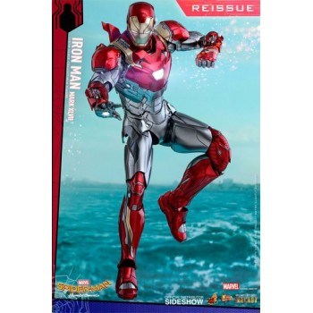 Spider-Man Homecoming Movie Masterpiece Diecast Action Figure 1/6 Iron Man Mark XLVII Reissue 32 cm