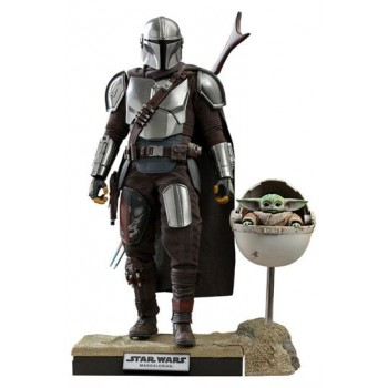 Star Wars The Mandalorian Action Figure 2-Pack 1/6 The Mandalorian and The Child Deluxe 30 cm