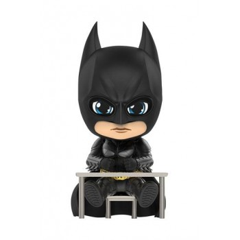 Batman Dark Knight Trilogy Cosbaby Mini Figure Batman (Interrogating Version) 12 cm