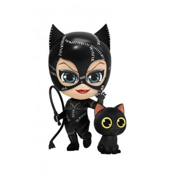 Batman Returns Cosbaby Mini Figures Catwoman with Whip 12 cm