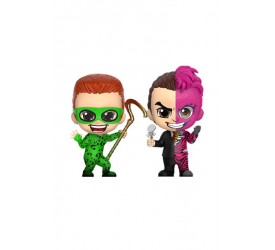Batman Forever Cosbaby Mini Figure 2-Pack The Riddler and Two-Face 11 cm