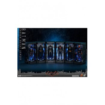 Batman Arkham Knight Miniature Collectible Set Armory 12 cm