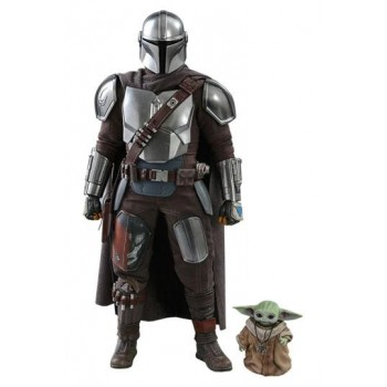 Star Wars The Mandalorian Action Figure 2-Pack 1/6 The Mandalorian and The Child 30 cm
