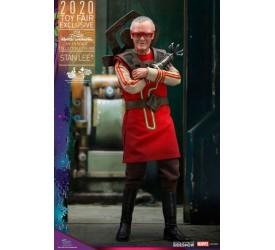 Thor Ragnarok Movie Masterpiece Action Figure 1/6 Stan Lee Hot Toys Exclusive 30 cm