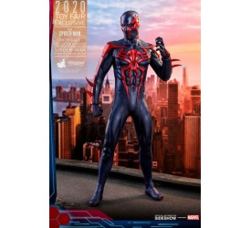 Marvel's Spider-Man Video Game Masterpiece Action Figure 1/6 Spider-Man 2099 Black Suit HT Exclusive