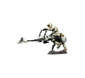 Star Wars The Mandalorian Action Figure 1/6 Scout Trooper & Speeder Bike 30 cm