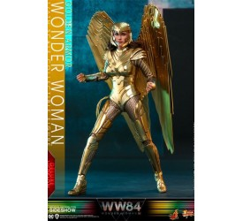 Wonder Woman 1984 Movie Masterpiece Action Figure 1/6 Golden Armor Wonder Woman (Deluxe) 30 cm