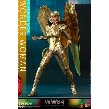 Wonder Woman 1984 Movie Masterpiece Action Figure 1/6 Golden Armor Wonder Woman (Deluxe) 30 cm