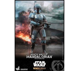 Star Wars: The Mandalorian Death Watch Mandalorian 1/6 Scale Figure