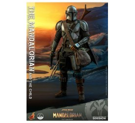 Star Wars The Mandalorian Action Figure 2-Pack 1/4 The Mandalorian and The Child 46 cm