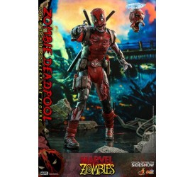 Marvel Zombies Comic Masterpiece Action Figure 1/6 Zombie Deadpool 31 cm