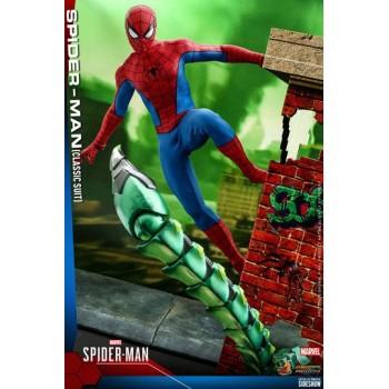 Marvel's Spider-Man Video Game Masterpiece Action Figure 1/6 Spider-Man (Classic Suit) 30 cm