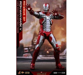 Iron Man 2 Movie Masterpiece Series Diecast Action Figure 1/6 Iron Man Mark V 32 cm