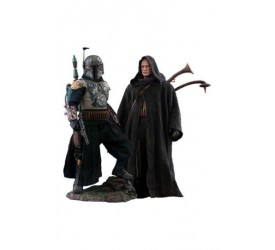 Star Wars The Mandalorian Action Figure 2-Pack 1/6 Boba Fett Deluxe 30 cm
