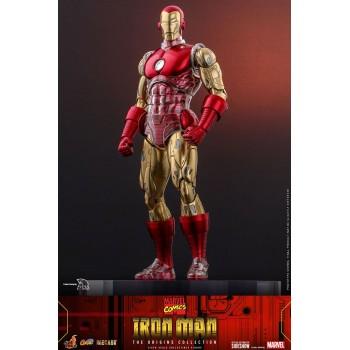 Marvel Comics The Origins Collection Comics Masterpiece Series Iron Man Suit Armor 1/6 Scale Figure 33 cm