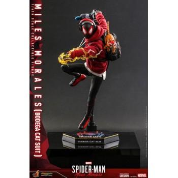 Spider-Man: Miles Morales Videogame Masterpiece Action Figure 1/6 Miles Morales Bodega Cat Suit 29cm