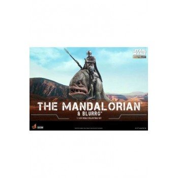Star Wars The Mandalorian Action Figure 2-Pack 1/6 The Mandalorian and Blurrg 37 cm