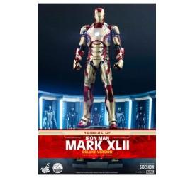 Iron Man 3 Action Figure 1/4 Iron Man Mark XLII Deluxe Version 49 cm