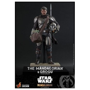 Star Wars The Mandalorian Action Figure 2-Pack 1/6 The Mandalorian and Grogu 30 cm