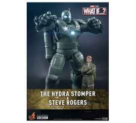What If...? Action Figures 1/6 Steve Rogers and The Hydra Stomper 28 and 56 cm