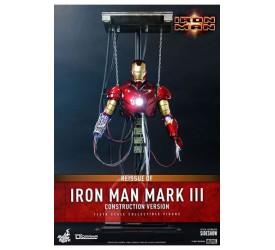 Iron Man Movie Masterpiece Action Figure 1/6 Iron Man Mark III (Construction Version) 39 cm