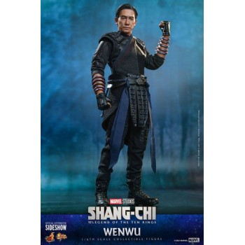 Shang-Chi and the Legend of the Ten Rings Movie Masterpiece Action Figure 1/6 Wenwu 28 cm