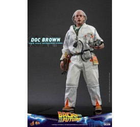 Back To The Future Movie Masterpiece Action Figure 1/6 Doc Brown 30 cm