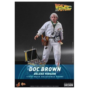 Back To The Future Movie Masterpiece Action Figure 1/6 Doc Brown (Deluxe Version) 30 cm