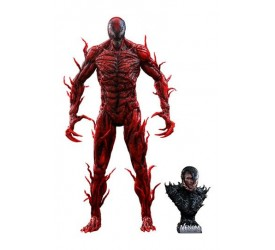 Venom Let There Be Carnage Movie Masterpiece Series PVC Action Figure 1/6 Carnage Deluxe Version 43 cm