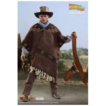 Back To The Future III Movie Masterpiece Action Figure 1/6 Marty McFly 28 cm